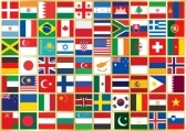 20486005-golden-background-with-square-flag-icons